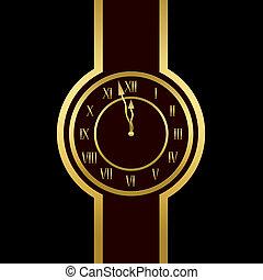 σχεδόν , δώδεκα , εκδήλωση , ρολόι