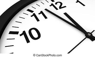 σχεδόν , μεσάνυκτα , ρολόι