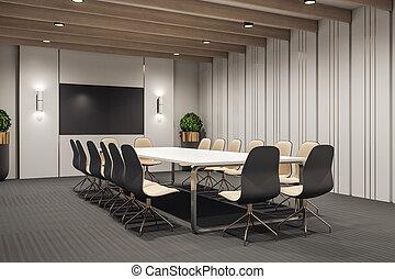 σύγχρονος , δωμάτιο , συνάντηση
