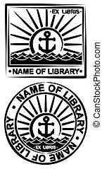σύμβολο , βιβλίο , sea.