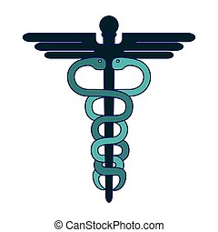 σύμβολο , ιατρικός , caduceus