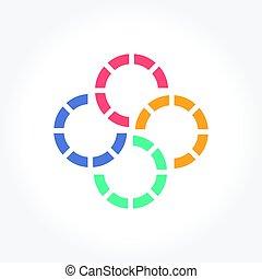 σύμβολο , κύκλοs , αφαιρώ , γραφικός