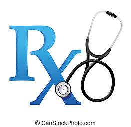 σύμβολο , στηθοσκόπιο , γιατροί