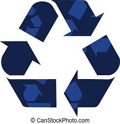 σύμβολο , φιλικά , environmentally