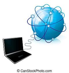 σύνδεση , internet