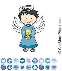 σύνεφο , άγγελος