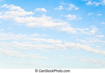 σύνεφο , με , ουρανόs , φόντο