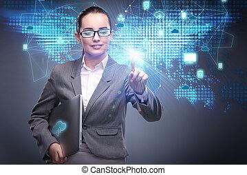 σύνεφο , χρήση υπολογιστή , γενική ιδέα , μέσα , τεχνολογία , κολάζ