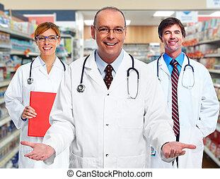 σύνολο , από , ιατρικός , doctors.
