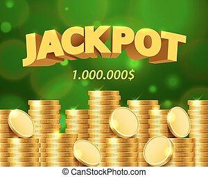 σύνολο στοιχημάτων , επινοώ. , χρυσός , μορφή , δολλάρια , εκατομμύριο