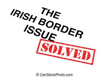 σύνορο , ιρλανδικός , θέμα , έλυσα