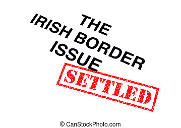 σύνορο , ιρλανδικός , θέμα , πάγιος