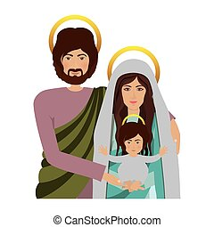 σώμα , εικόνα , ιερός , οικογένεια , μισό