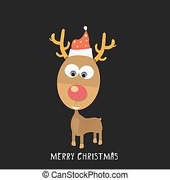 τάρανδος , μικροβιοφορέας , xριστούγεννα