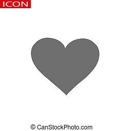 τέλειος , καρδιά , ρυθμός , γραφικός , αγάπη , φόντο , ιστός , σήμα , απομονωμένος , διαμέρισμα , ανώνυμο ερωτικό γράμμα , ημέρα , s , vector., έμβλημα , άσπρο , εικόνα , logo., σχεδιάζω , σύμβολο. , σκιά