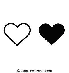 τέλειος , καρδιά , ρυθμός , διαμέρισμα , eps10, φόντο , ιστός , απομονωμένος , pictogram., σύμβολο. , γραφικός , μαύρο , vector., έμβλημα , αγάπη , άσπρο , εικόνα , logo., σχεδιάζω , σκιά