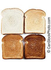 τέσσερα , μπογιά άγαλμα , bread
