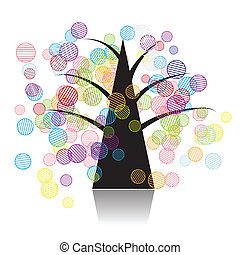 τέχνη , δέντρο , φαντασία