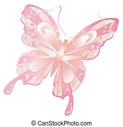 τέχνη , πεταλούδα , ιπτάμενος