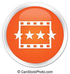 ταινία , αναθεώρηση , εικόνα , ασφάλιστρο , πορτοκάλι , στρογγυλός , κουμπί