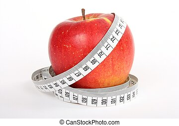 ταινία , γενική ιδέα , μήλο , δίαιτα , μέτρο