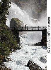 ταξιδιώτης , μέσα , νορβηγία