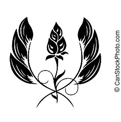 τατουάζ , από , ένα , ακμάζω ακολουθώ κάποιο πρότυπο