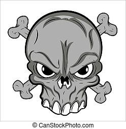 τατουάζ , μικροβιοφορέας , κρανίο , γουρλίτικο ζώο