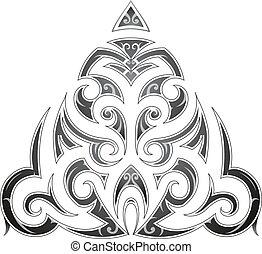 τατουάζ , ρυθμός , η γλώσσα των μαορί , τέχνη , φυλετικός