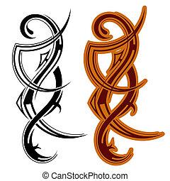 τατουάζ , φυλετικός