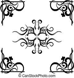τατουάζ , φυλετικός , πρότυπο