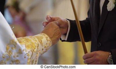 τελετή , γάμοs , εκκλησία