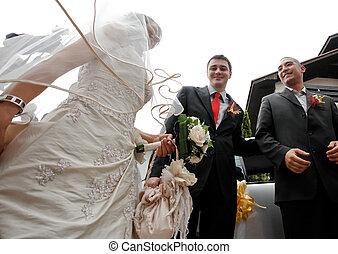 τελετή , γάμοs