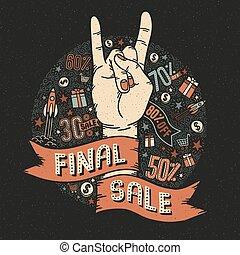 τελικός , πώληση