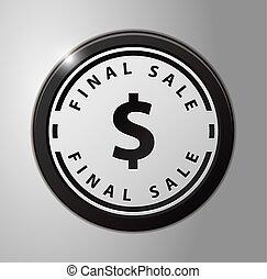 τελικός , πώληση , σήμα