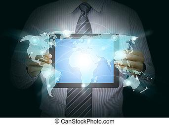 τεχνολογία , δίκτυο , κοινωνικός
