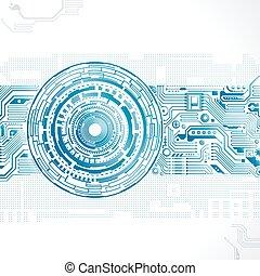 τεχνολογία , φόντο