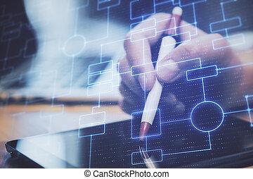 τεχνολογία , cryptocurrency, γενική ιδέα