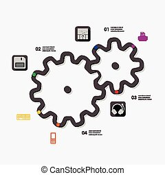 τεχνολογία , infographic