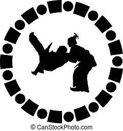 τζούντο , πολεμικός αριστοτεχνία