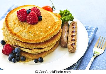τηγανίτεs , πρωινό