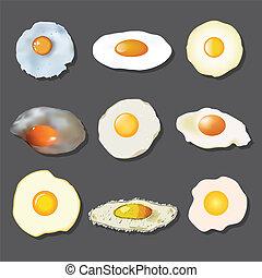 τηγανητό αυγό , συλλογή