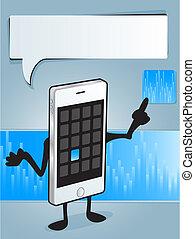 τηλέφωνο , app , κομψός
