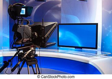 τηλεοπτικός εργαστήρι καλιτέχνη