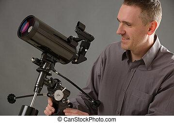 τηλεσκόπιο , άντραs