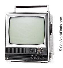 τηλεόραση , γριά , handheld
