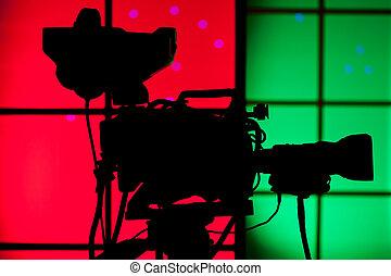 τηλεόραση , επαγγελματικός , φωτογραφηκή μηχανή , βίντεο , ψηφιακός