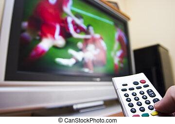 τηλεόραση , ποδόσφαιρο , αγρυπνία