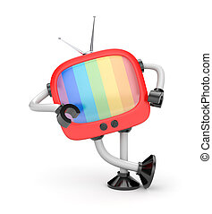 τηλεόραση , ρομπότ