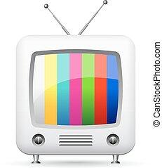 τηλεόραση , retro , εικόνα